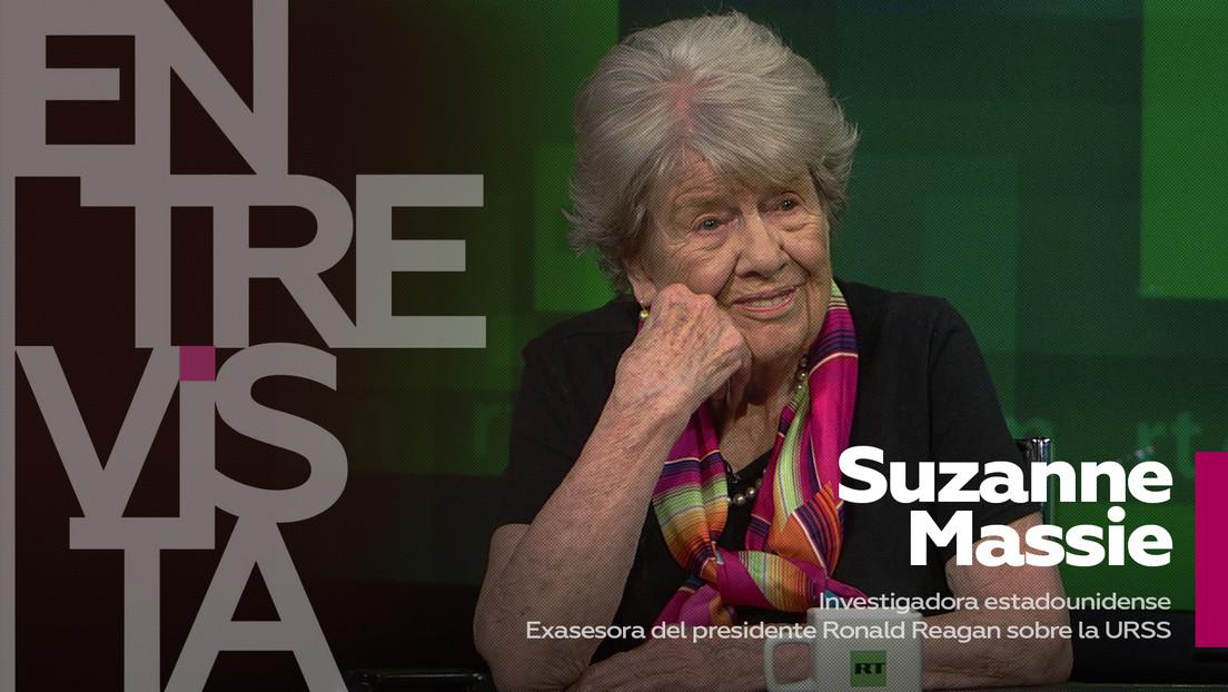 """Suzanne Massie, exasesora del presidente Reagan: """"Es algo vergonzoso que nadie pueda escribir nada bueno en EE.UU. sobre Rusia sin ser censurado"""""""