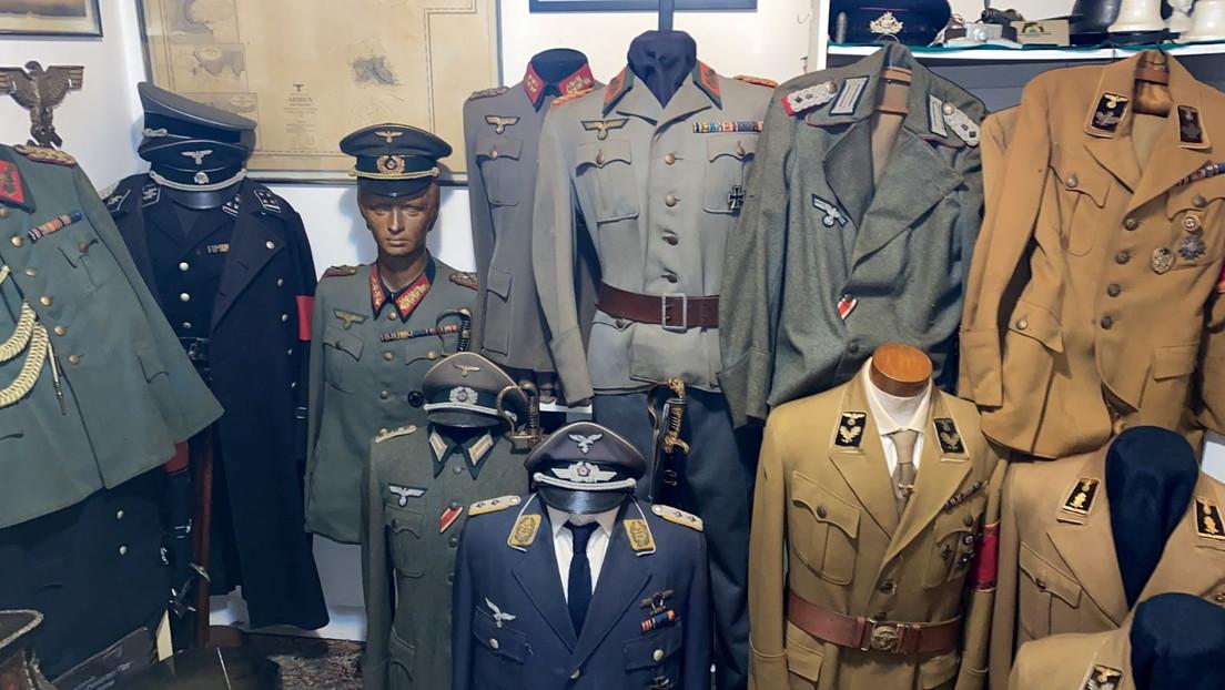 La Policía brasileña encuentra una millonaria colección de artículos y armas nazi en la casa de un presunto pedófilo