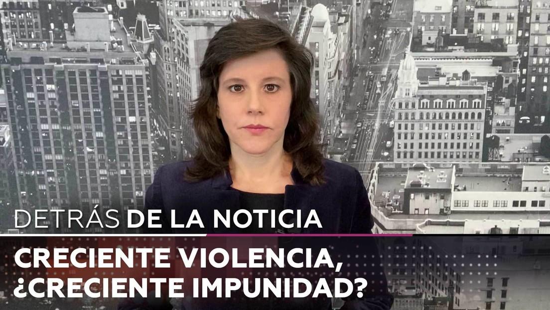 Creciente violencia, ¿creciente impunidad?