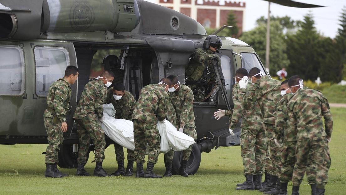 Un senador colombiano denuncia que el Ministerio de Defensa ocultó la muerte de cuatro menores en un bombardeo contra el ELN