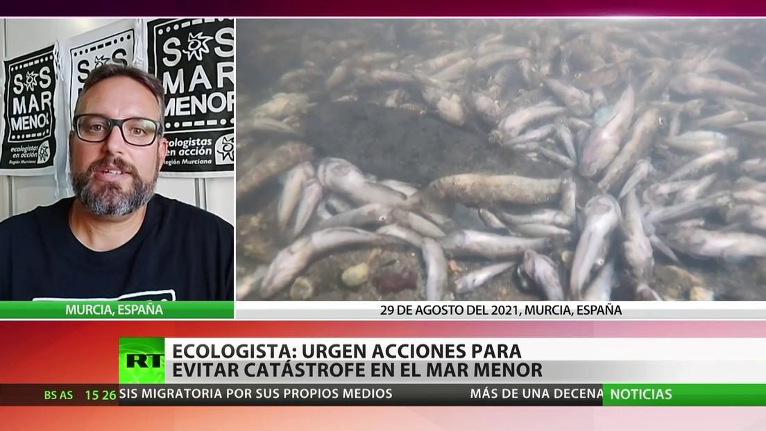 Ambientalistas en España exigen al Gobierno medidas para salvar el mar Menor