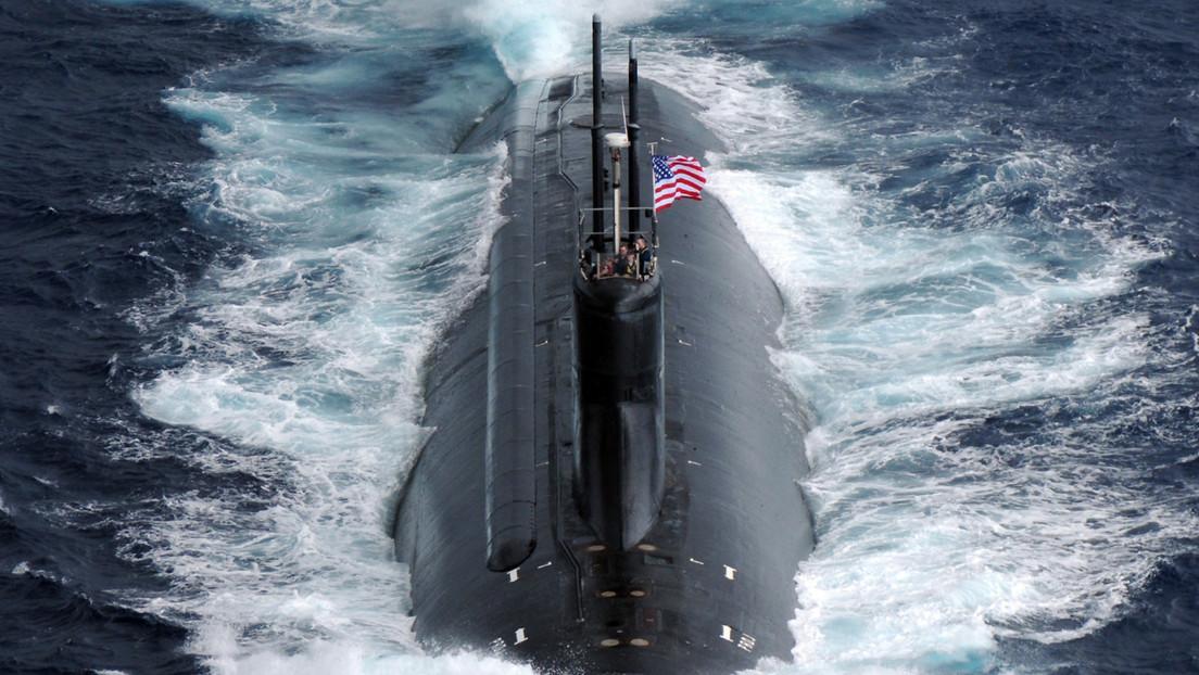 Varios militares heridos en el impacto de un submarino de propulsión nuclear estadounidense contra un objeto en el Indo-Pacífico