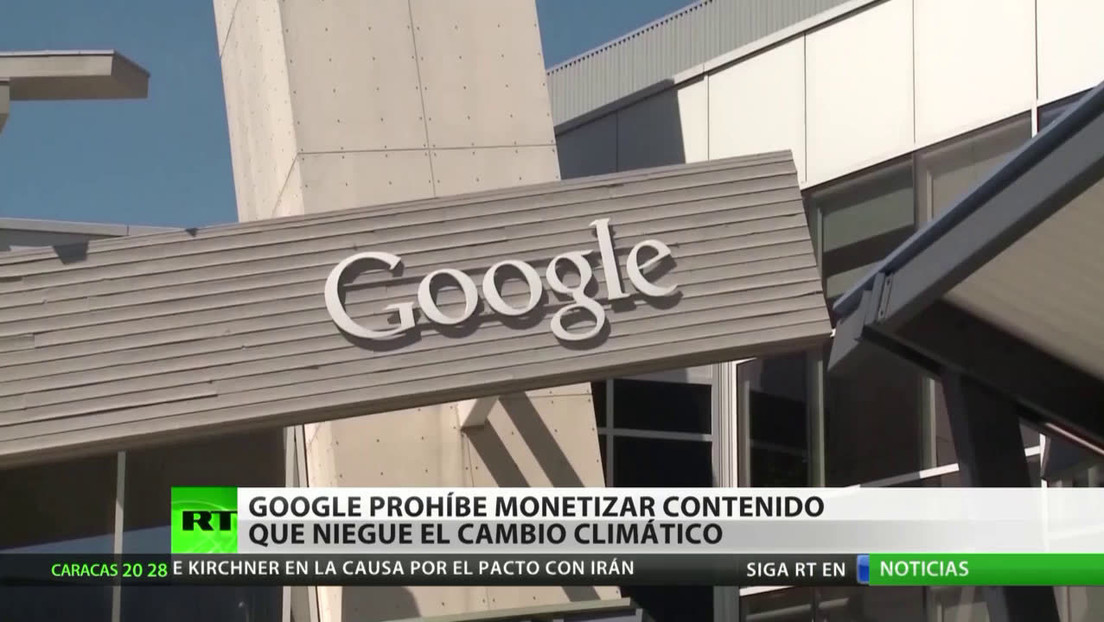 Google prohíbe monetizar contenido que niegue el cambio climático