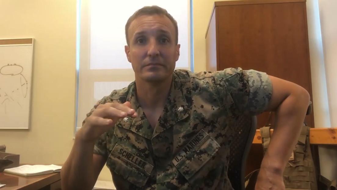 Un oficial de la Marina de EE.UU. encarcelado por criticar la salida de Afganistán se enfrenta a seis cargos ante una corte marcial especial