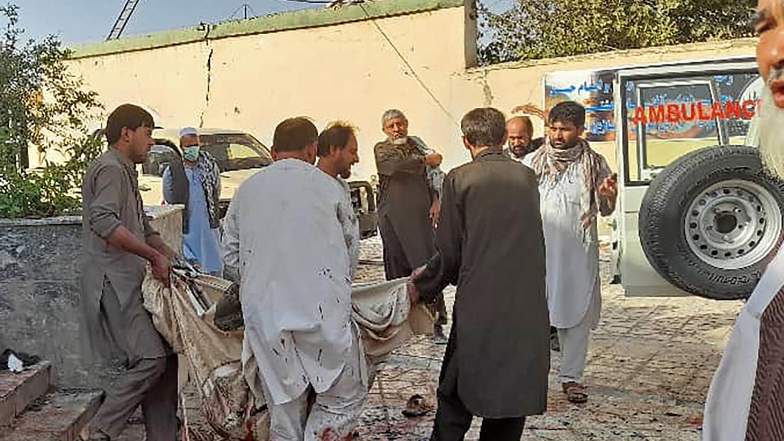 Una gran explosión en una mezquita chií en la ciudad afgana de Kunduz deja al menos 50 muertos y más de 90 heridos
