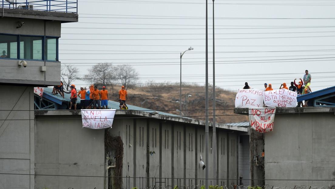 Autoridades de Ecuador admiten que cerca del 40 % de los presos no tienen sentencia
