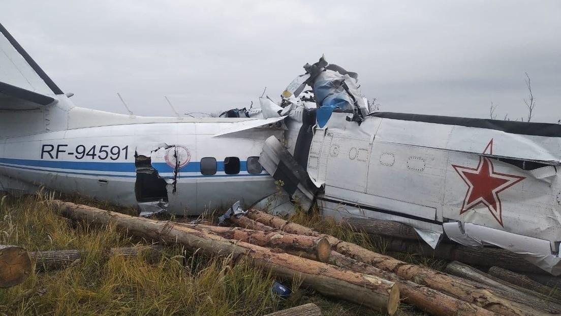 Al menos 16 muertos tras estrellarse este domingo un avión en Rusia
