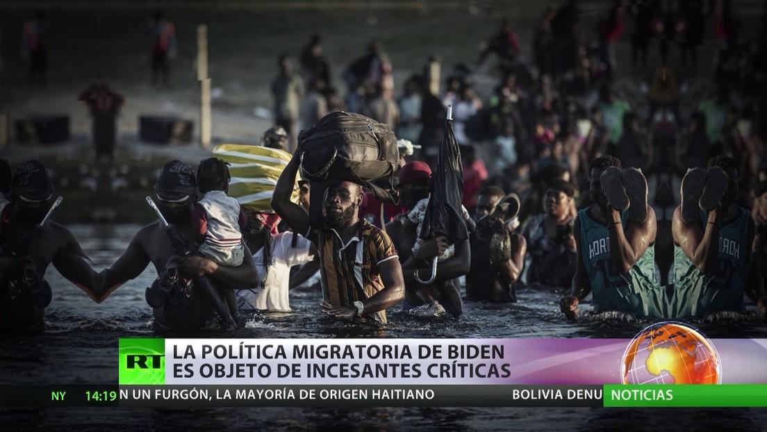 La política migratoria de Biden es objeto de incesantes críticas