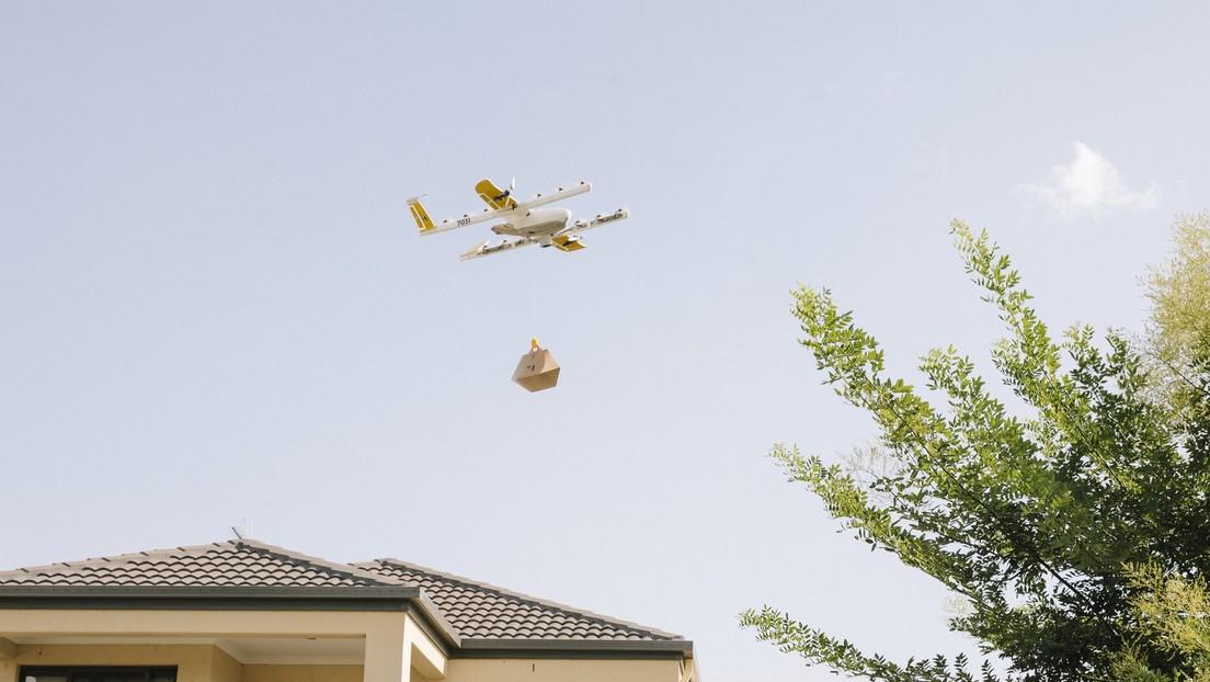 """Google lanza en colaboración con un centro comercial de Australia el """"primer servicio de entrega con drones"""" instalado en una azotea"""