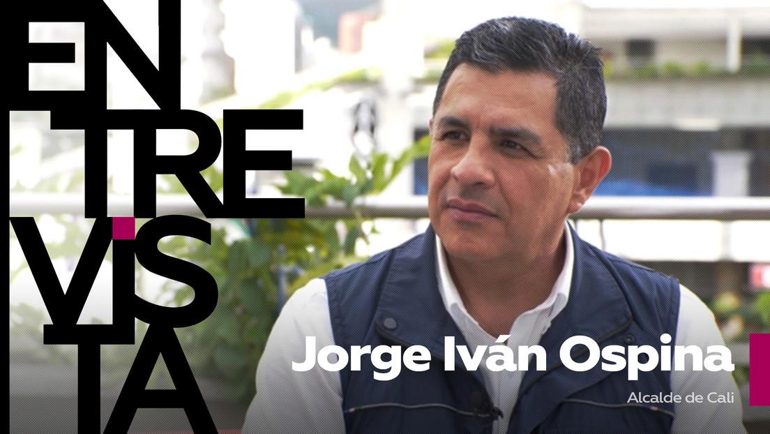 """Jorge Iván Ospina, alcalde de Cali, sobre el estallido social: """"Allí donde las prácticas policiales fueron más tóxicas tuvimos mayor tensión"""""""