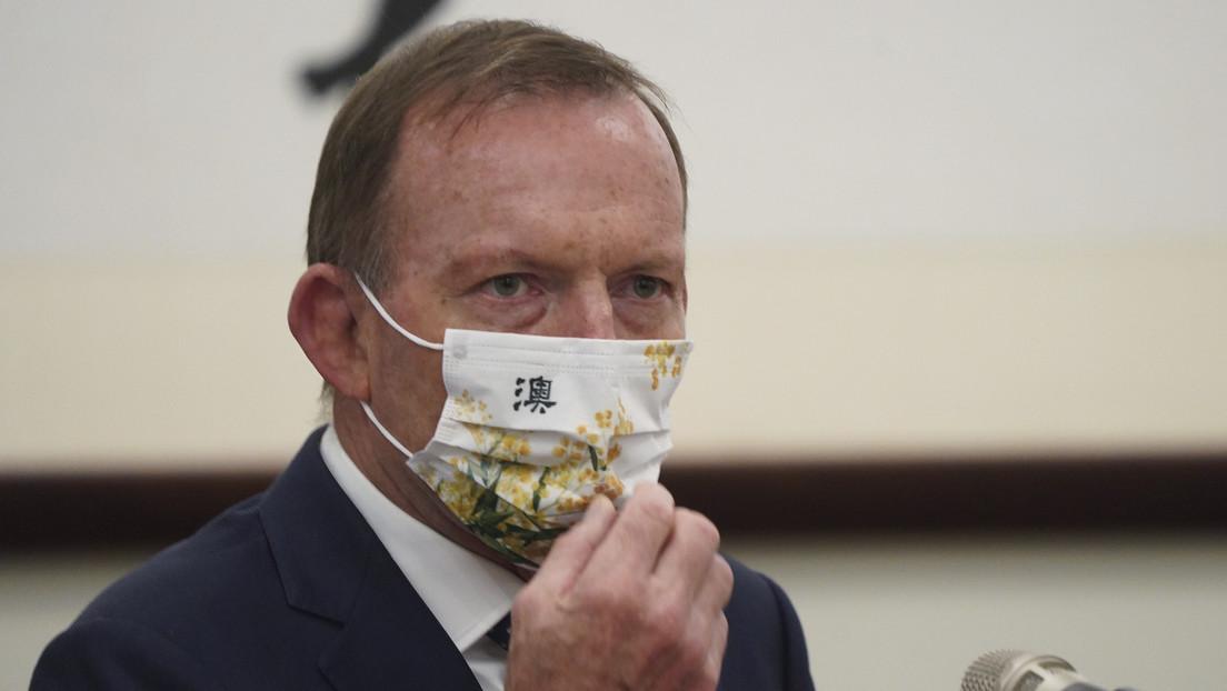 """""""Actuación despreciable y loca"""": Embajada china critica al ex primer ministro australiano Tony Abbott tras su visita a Taiwán"""