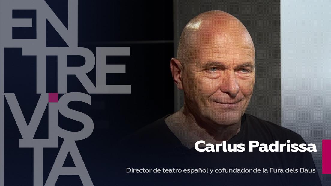 """Carlus Padrissa, director de teatro español y cofundador de la Fura dels Baus: """"El teatro sirve para vencer el miedo"""""""