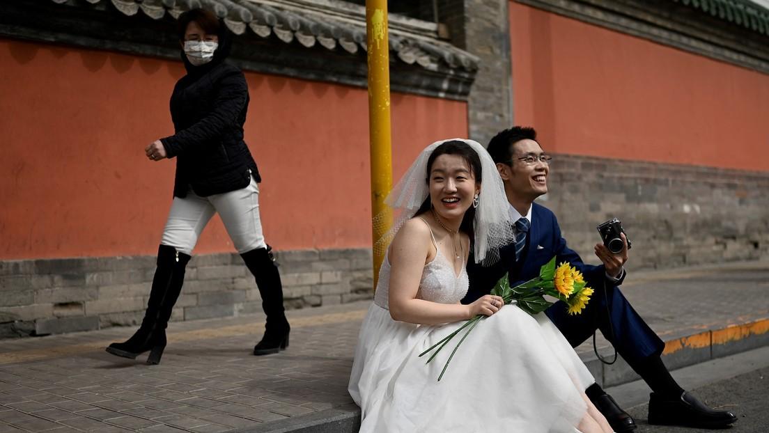 Una encuesta revela que casi la mitad de las jóvenes en China no piensan casarse