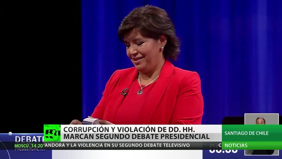 Evasión fiscal y violaciones de derechos humanos: las claves del segundo debate presidencial en Chile
