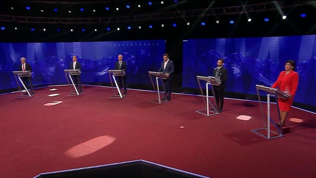 Críticas a Piñera y polémica por la crisis migratoria: los ejes del debate de candidatos presidenciales en recta final rumbo a las elecciones en Chile