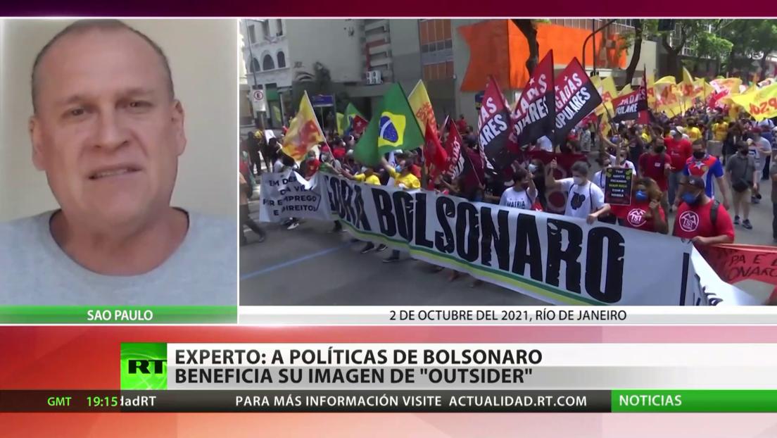 """Experto: """"Bolsonaro se presenta como un 'outsider', como alguien que es una figura antipolítica"""""""