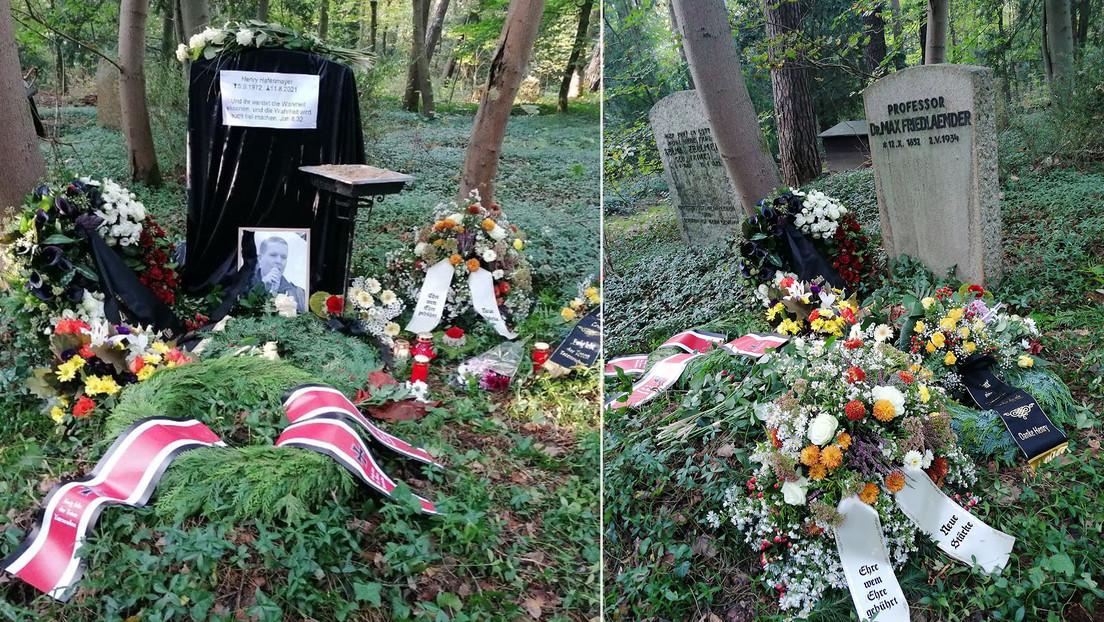 """""""Profanaron su memoria"""": Polémica en Alemania por el entierro de un conocido neonazi en la parcela de un erudito judío"""