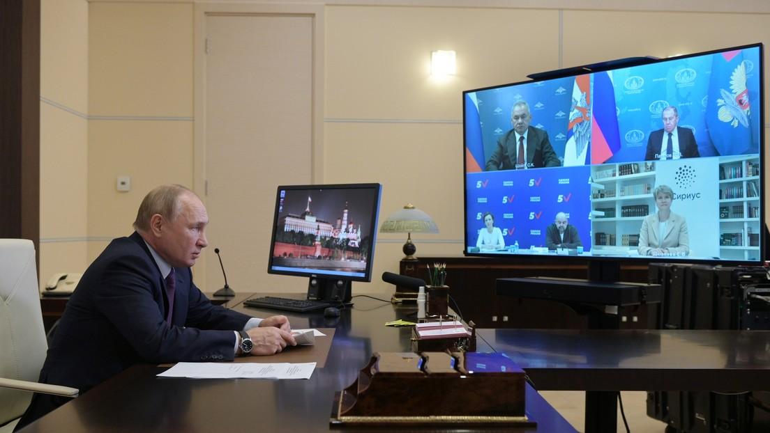 """Putin: """"El aumento de los precios del gas en Europa ha sido consecuencia del déficit de la energía eléctrica, y no al revés"""""""