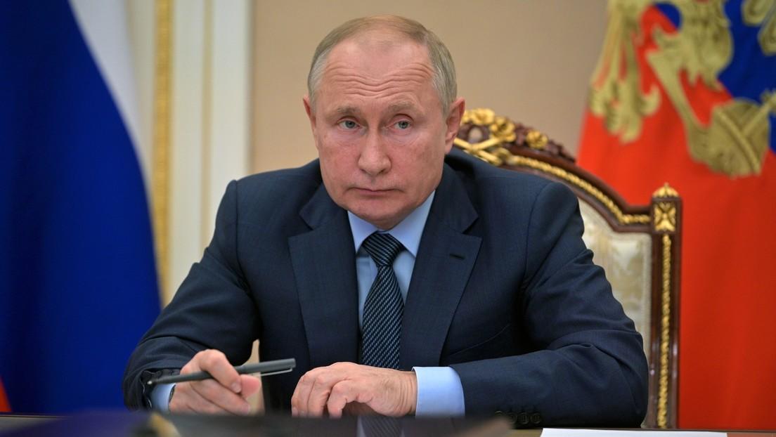Putin advierte que los terroristas del Estado Islámico se agrupan en Afganistán y podrían desestabilizar a los países vecinos