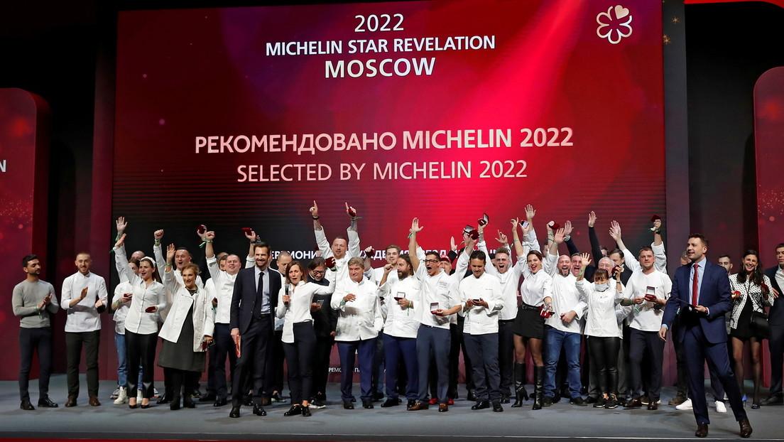 La Guía Michelin concede estrellas por primera vez a varios restaurantes rusos