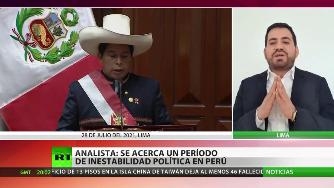 Experto: Se acerca un nuevo período de inestabilidad política en Perú
