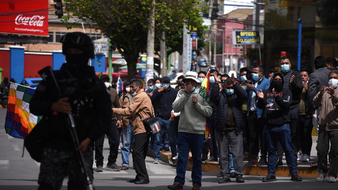 """El Gobierno de Bolivia retira proyecto de ley contra las ganancias ilícitas tras asegurar que grupos de oposición provocaron """"temor"""""""