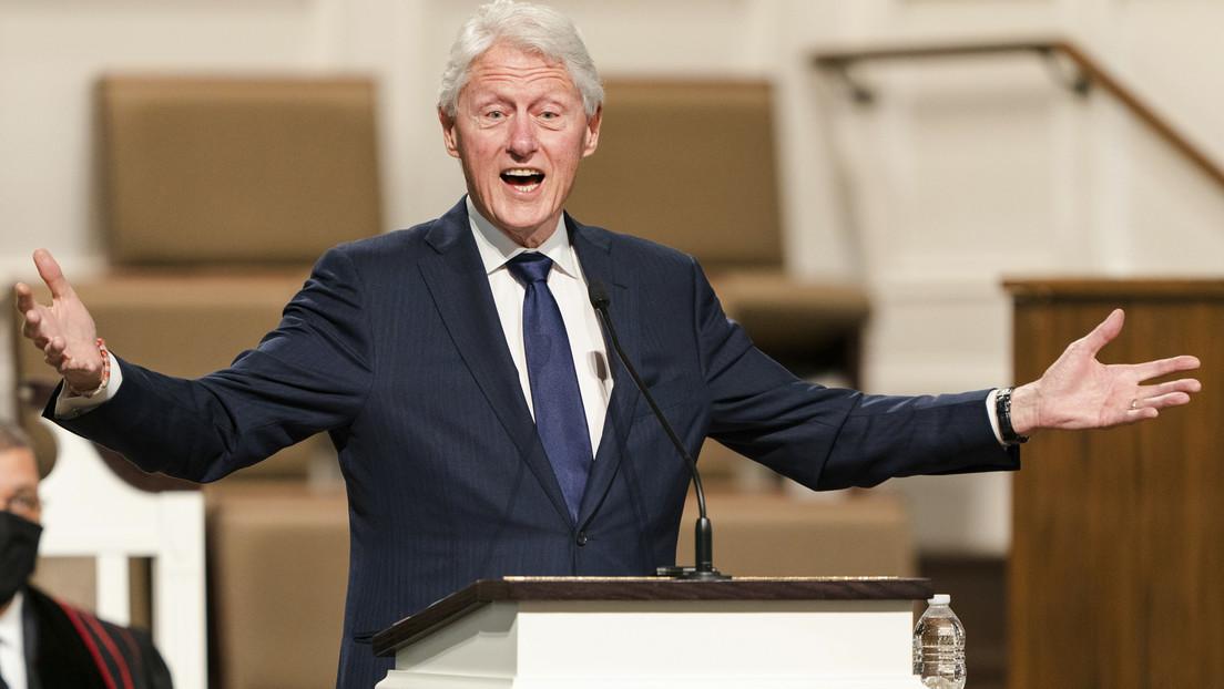 Hospitalizan al expresidente de EE.UU., Bill Clinton
