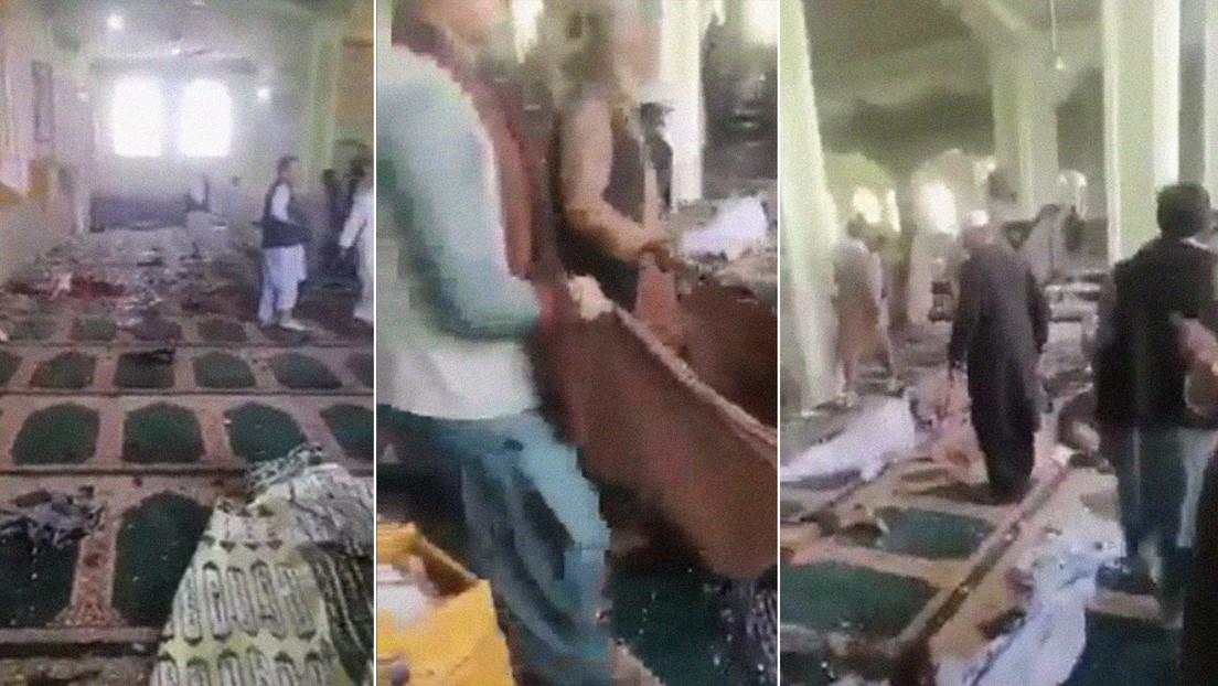 Una explosión en una importante mezquita chií en Afganistán causa al menos 60 muertos y decenas de heridos