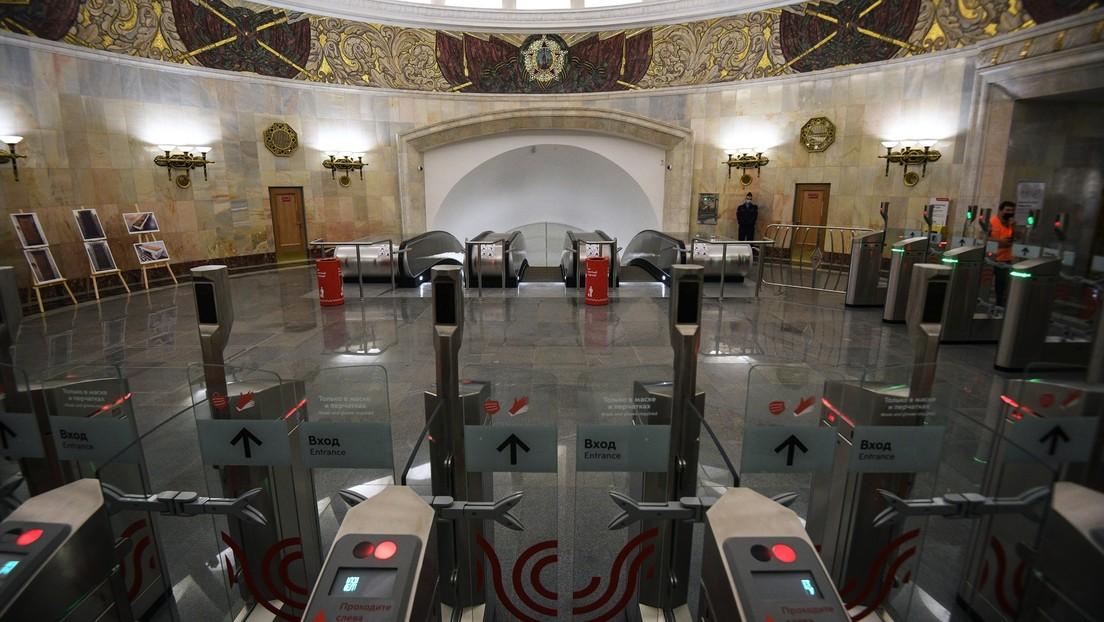 El futuro ya está aquí: los pagos con un vistazo llegan a todas las estaciones de metro de Moscú