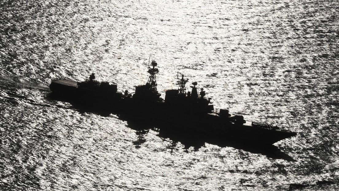La Marina rusa impide que un destructor estadounidense viole la frontera de Rusia en el Lejano Oriente