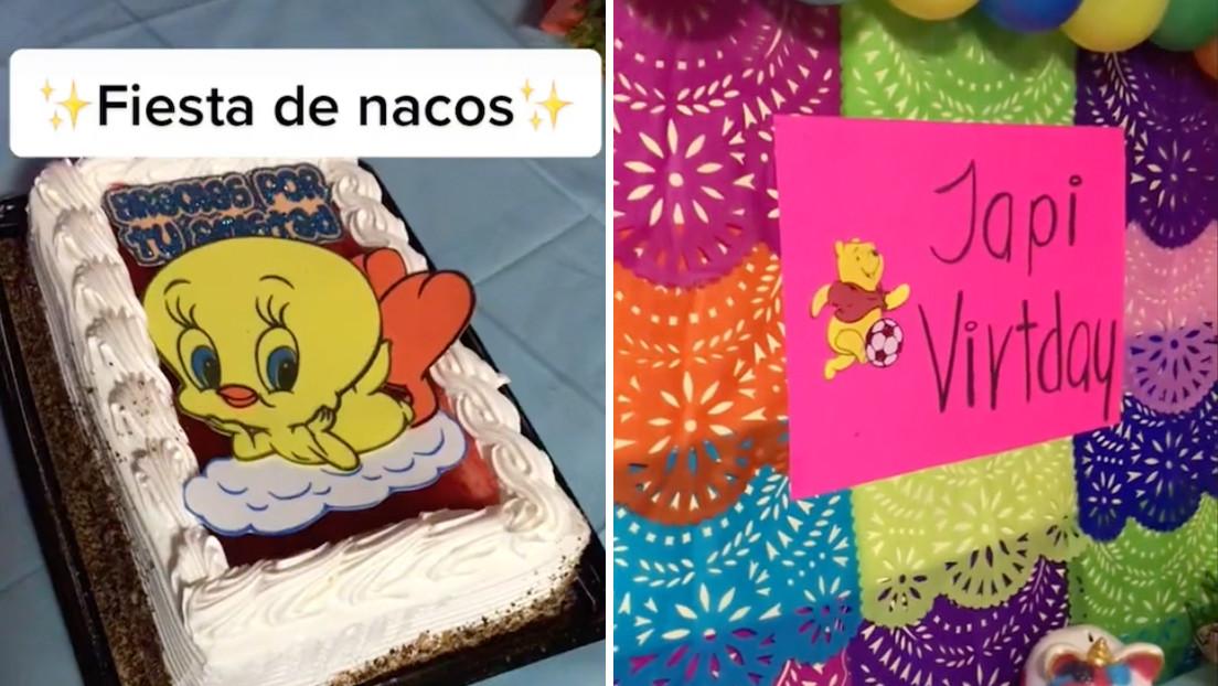 Una 'tiktoker' mexicana organiza una fiesta de 'nacos' y desata la indignación en las redes (VIDEO)