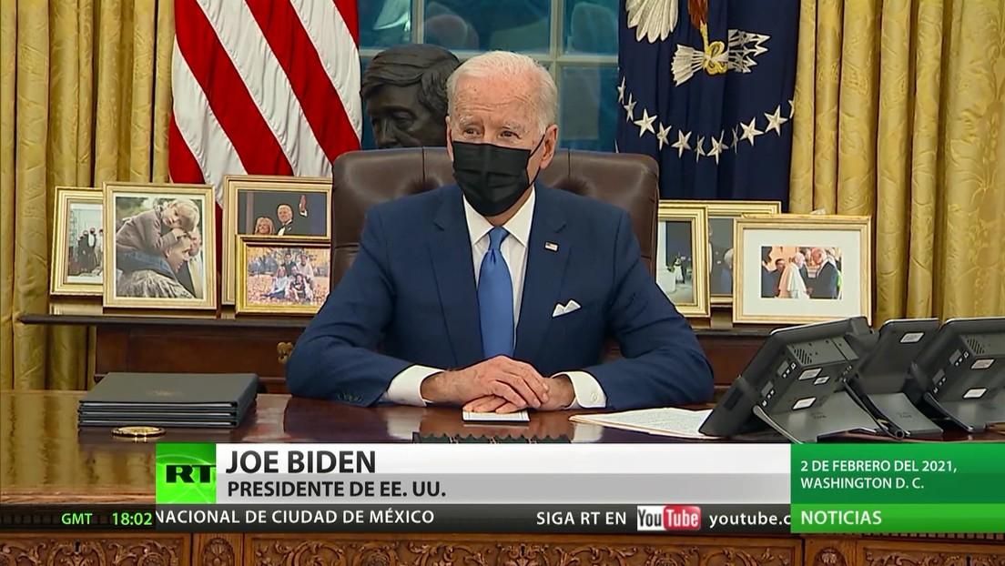 Biden planea retomar la política de Trump de 'Quédate en México'
