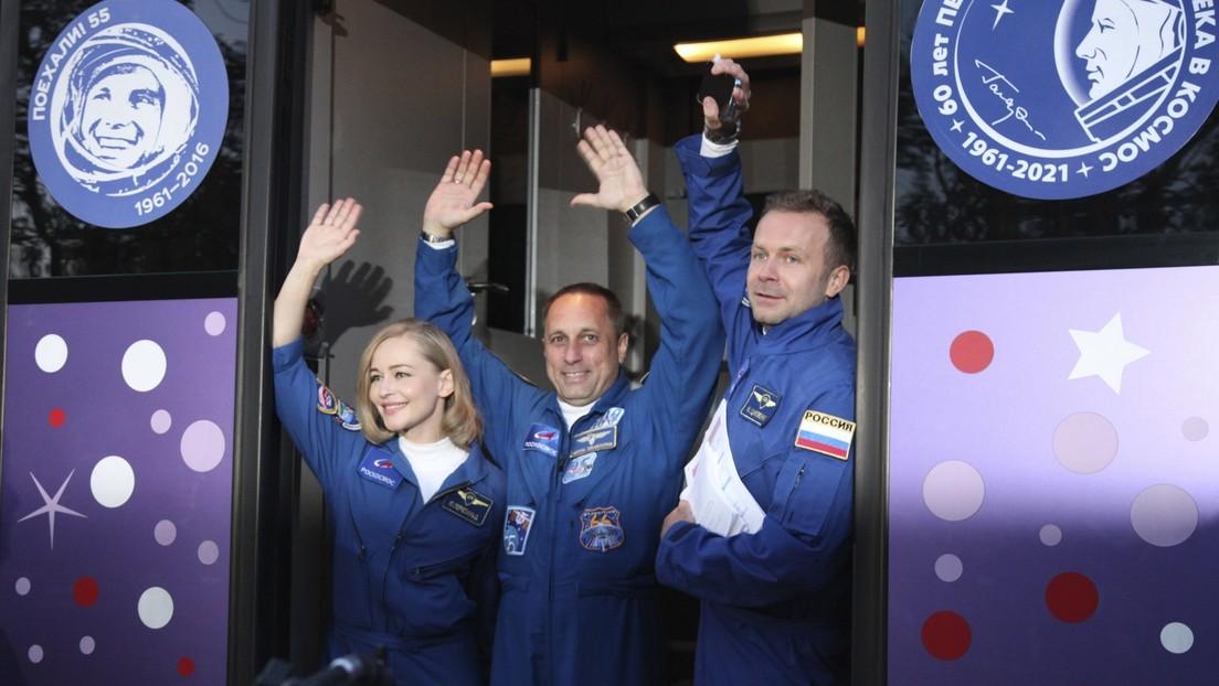 Odisea 'de cine' en el espacio: Así fue el rodaje de la primera película en órbita