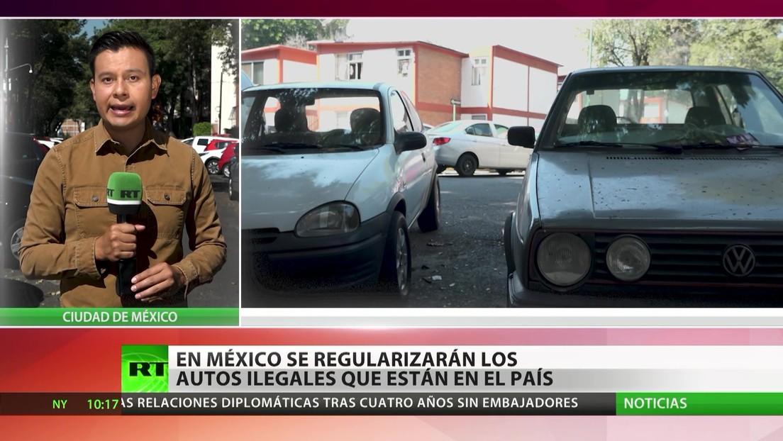 México regularizará los autos ilegales que están en el país