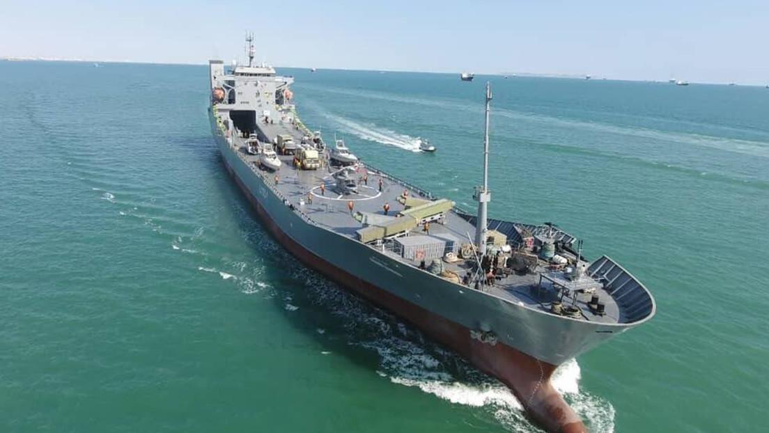 La Marina iraní repele un ataque de piratas contra petroleros en el golfo de Adén