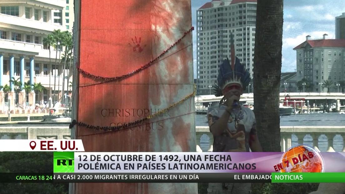 12 de octubre de 1492, una fecha polémica en países latinoamericanos