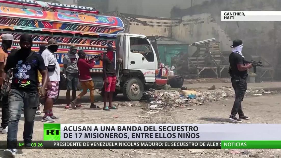 EE.UU. y Haití tratan de liberar a los 17 misioneros secuestrados por una pandilla en Puerto Príncipe