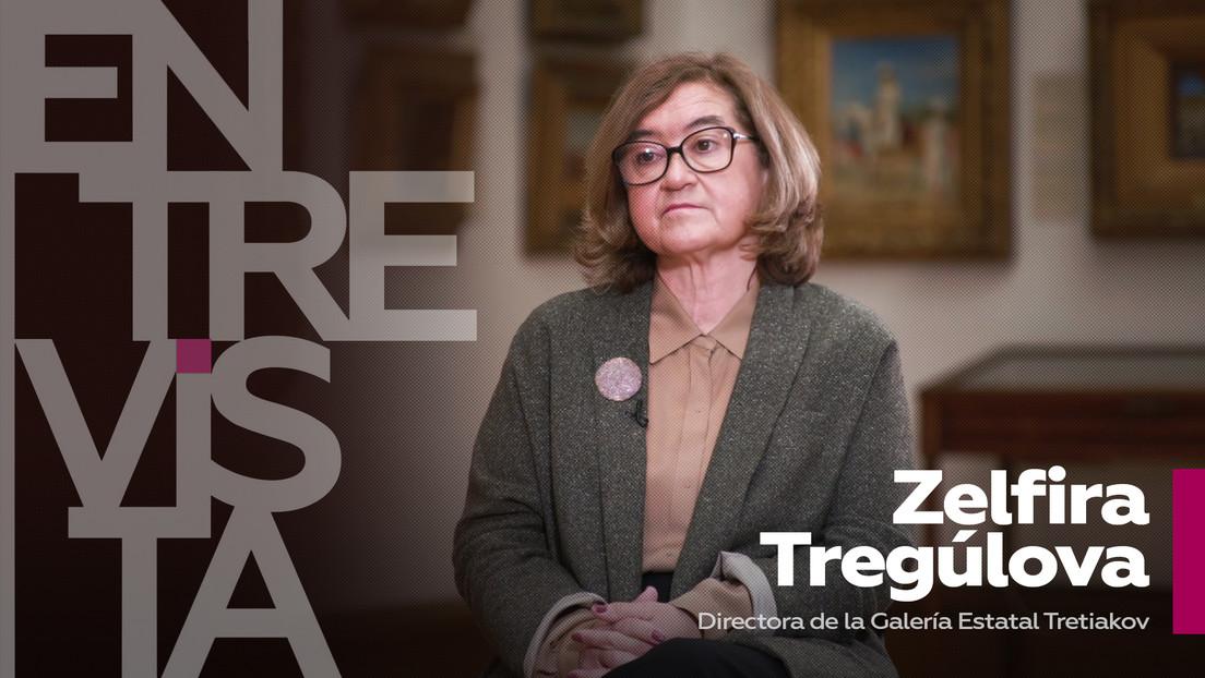 """Directora de la Galería Tretiakov de Moscú: """"La gente necesita aprender a aceptar que hay otras opiniones que pueden diferir de las suyas"""""""