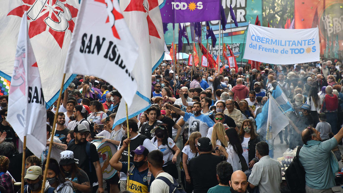Segundo día de movilizaciones masivas en Argentina por el Día de la Lealtad Peronista