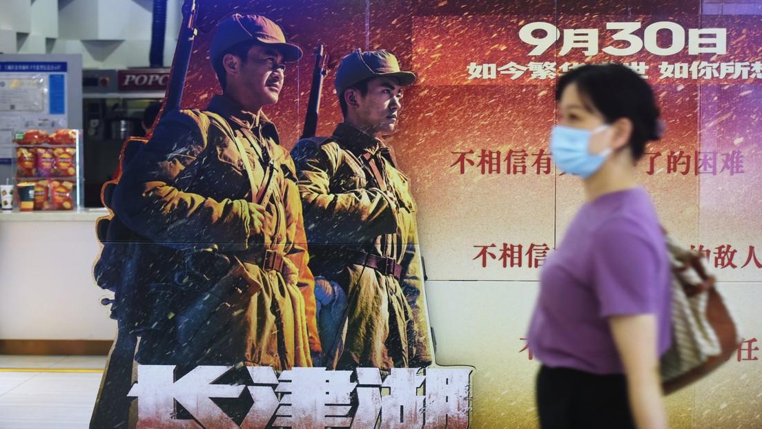 Una película sobre la batalla entre chinos y estadounidenses en la guerra de Corea se perfila para ser la más taquillera en la historia de China