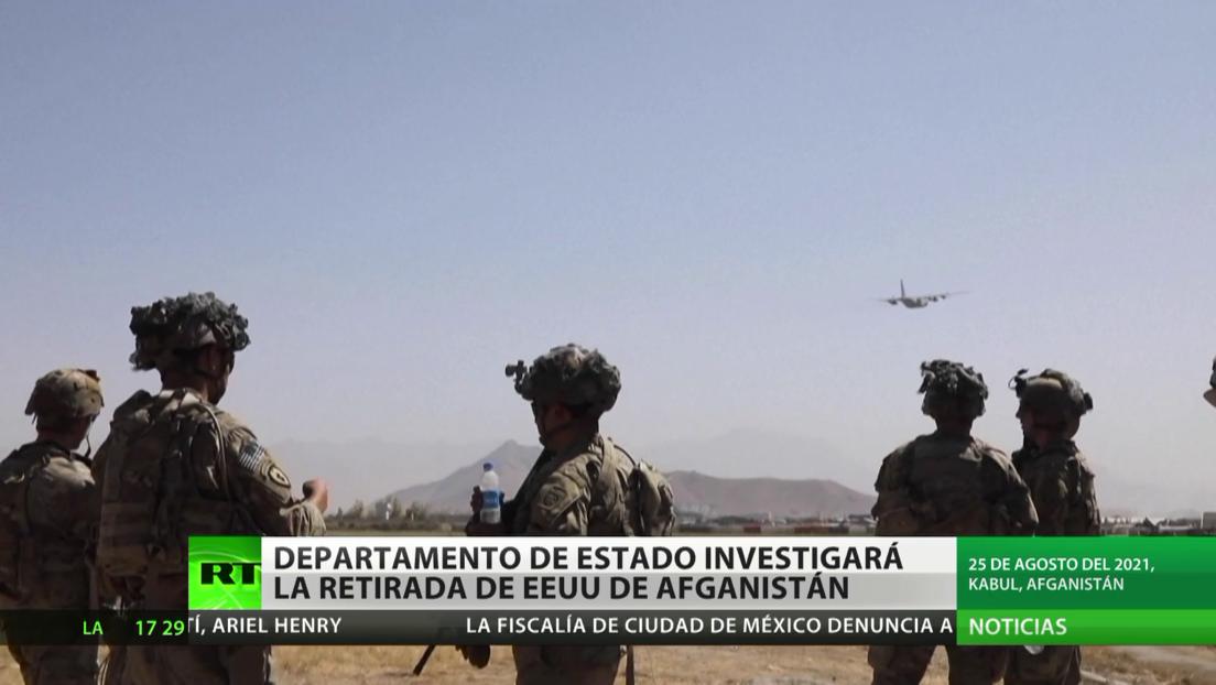 El Departamento de Estado de EE.UU. investigará la retirada de sus tropas y de su misión diplomática de Afganistán