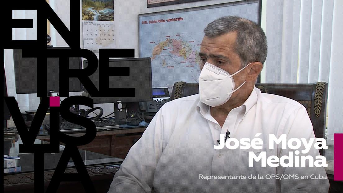 """José Moya Medina, representante de la OPS/OMS en Cuba: """"Todos queremos recuperar la vida que teníamos antes, pero eso va a demorar"""""""