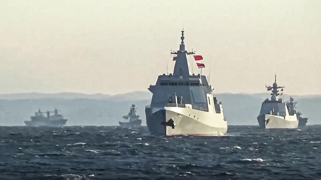 Japón registra por primera vez el paso de un grupo naval ruso-chino a través del estrecho de Tsugaru
