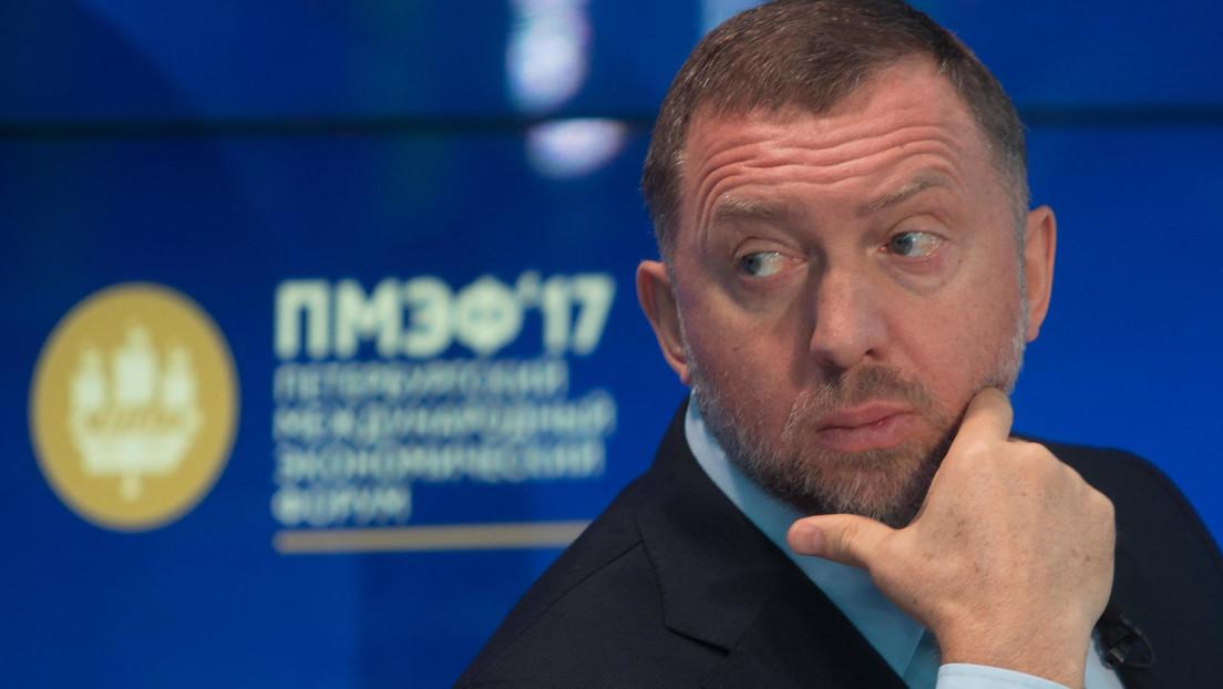 Reportan que agentes del FBI registran la casa del multimillonario ruso Oleg Deripaska en Washington