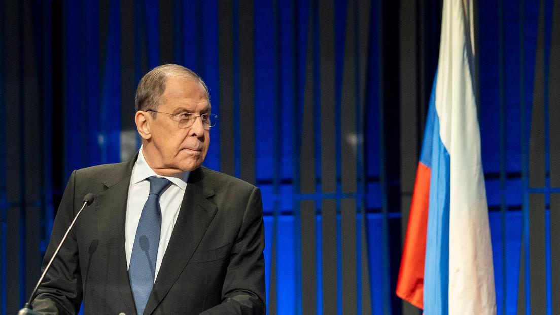 Lavrov señala que la OTAN es responsable de sus actuales relaciones con Rusia y debe tomar los primeros pasos para mejorarlas