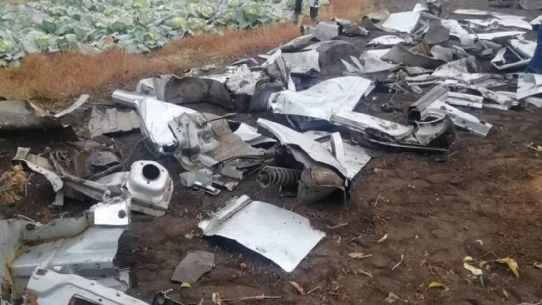 FOTOS: Desguaza su coche y entierra las partes en el patio de una casa para ocultar las evidencias tras un accidente mortal