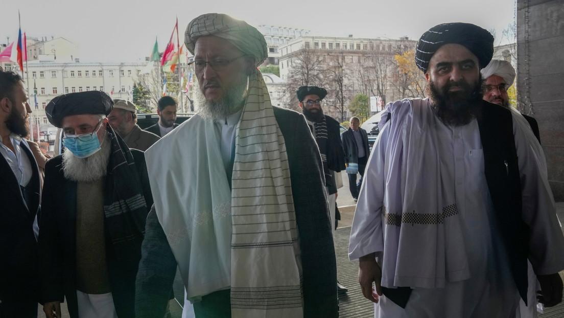Una delegación talibana llega para conversaciones en Moscú