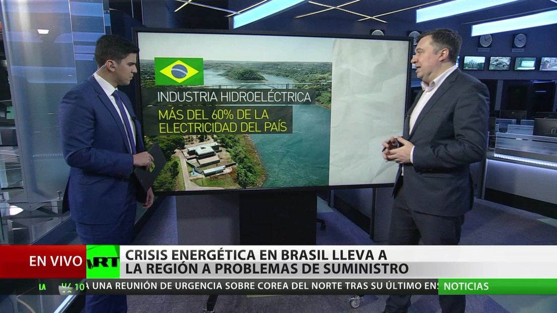 La crisis energética en Brasil amenaza con problemas de suministro para la región
