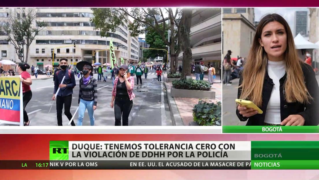 Colombia vive una nueva jornada de movilizaciones convocadas por el Comité del Paro