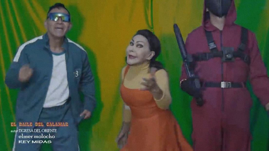 VIDEO: La cantante peruana Tigresa del Oriente presenta su nuevo videoclip inspirado en la serie 'El juego del calamar'